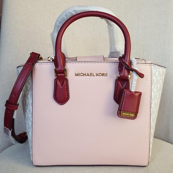 51e91dfaeb2d MICHAEL Michael Kors Bags   Nwt Michael Kors Small Carolyn Tote Pink ...